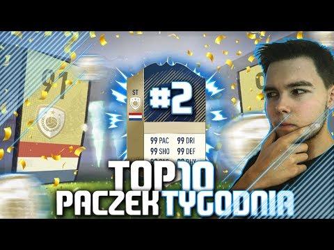 FIFA 18 | TOP 10 PACZEK TYGODNIA  | #2  | 2 IKONY?!