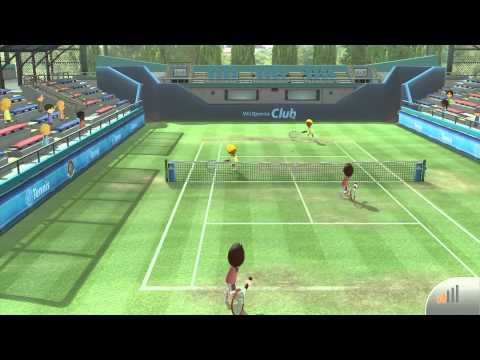 Wii Sports Club (Retail Edition): Tennis