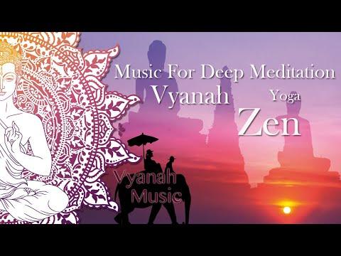 Zen Music For Positive Energy, Inner Balance, Deep Meditation, Yoga & Relaxing.