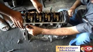 Calage de la distribution moteur Peugeot essence & diesel (travail manuel)