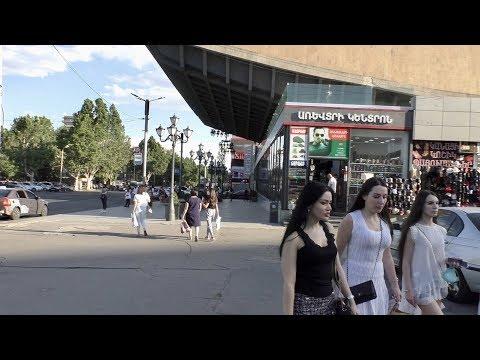 Ереван, 14.06.20, Su, По ул.Тигран Мец, до Церкви и обратно к Площади,  День 88-ой, Video-2.