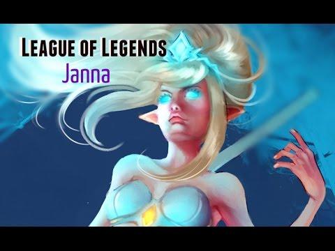 League Of Legends (Janna) - Speedpaint [Corel Painter Essentials 5]