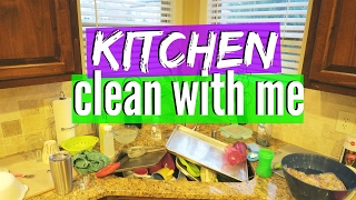 Kitchen Cleaning Motivation | CLEAN WITH ME
