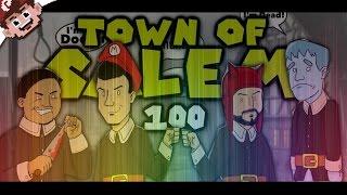 PART 100 SPECIAL! (The Derp Crew: Town of Salem - Part 100)