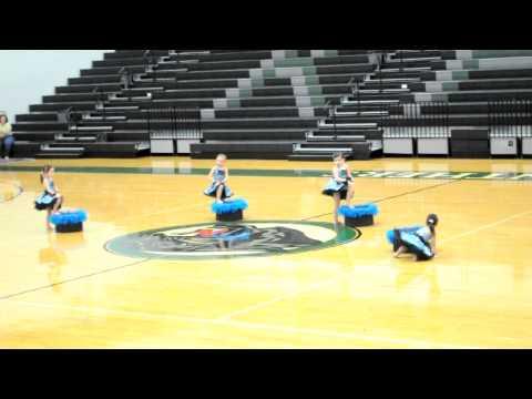 Mascot Pre-K Jazz Routine Blue Suede Shoes Fierce Dance Company