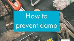 Condensation and damp causes and prevention