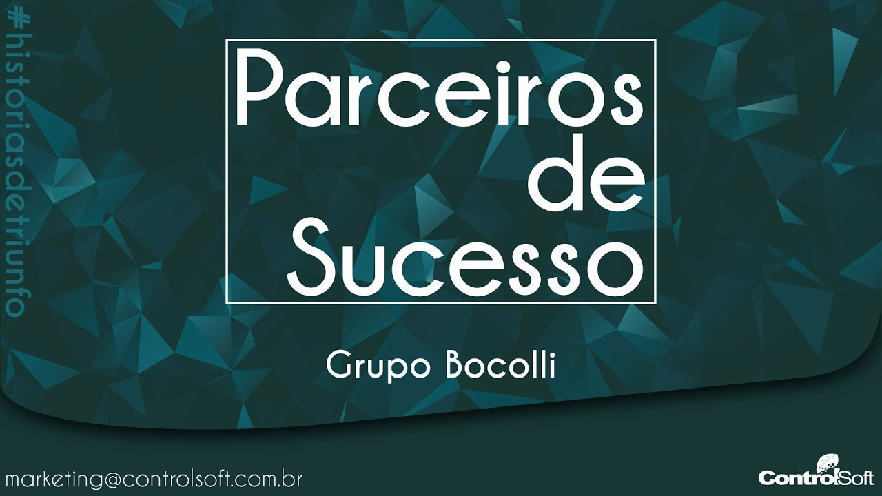 Parceiros de Sucesso ControlSoft - Grupo Bocolli