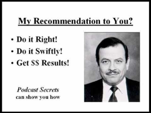 Podcast Secrets Testimonial - Fred Castaneda - GainControlOfYourDay.com