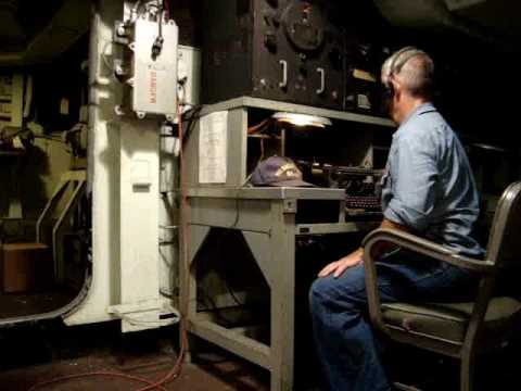 Radio Operations from USS MASSACHUSETTS