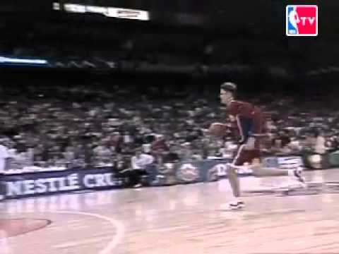 1996 Brent Barry Dunk From The Freethrow Line