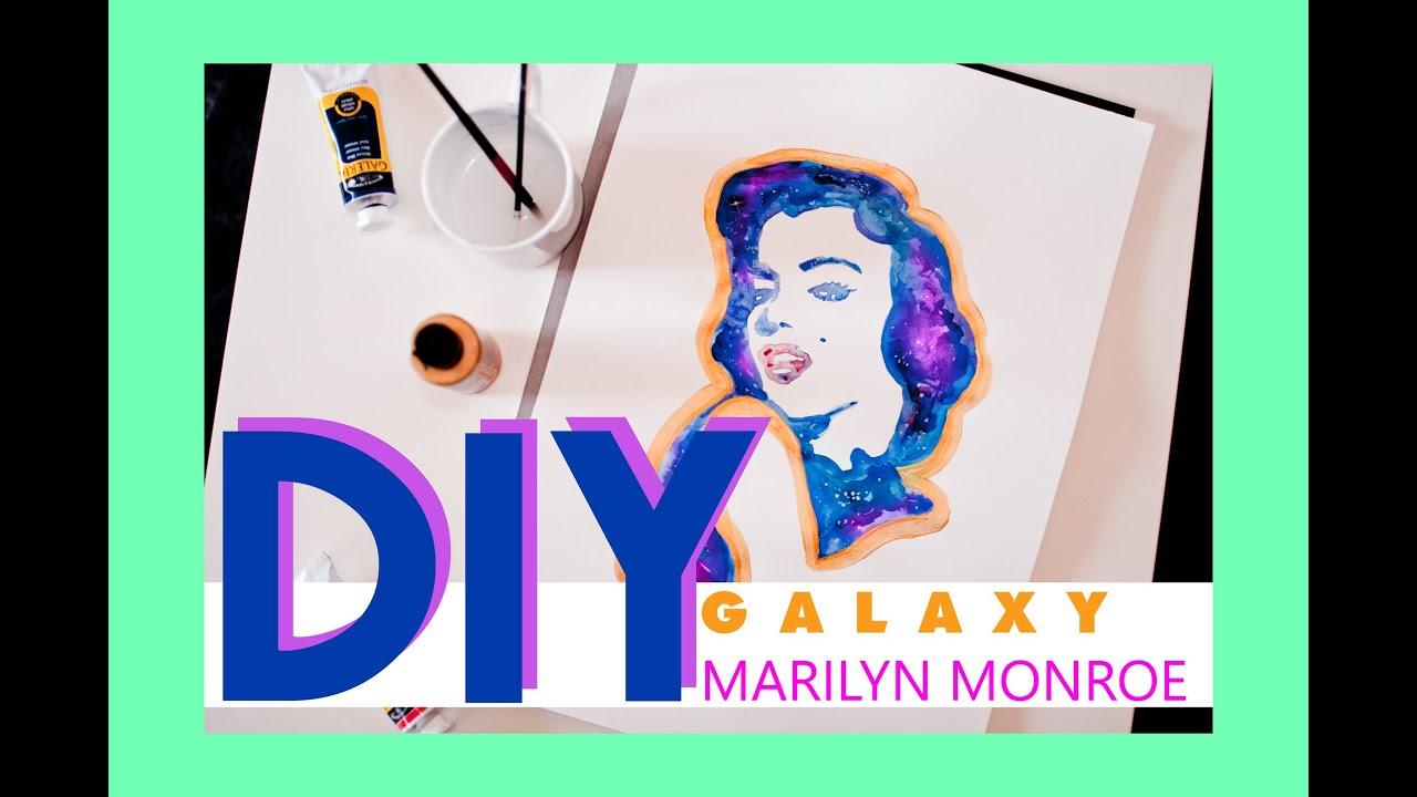 DIY Galaxy - Marilyn Monroe - YouTube