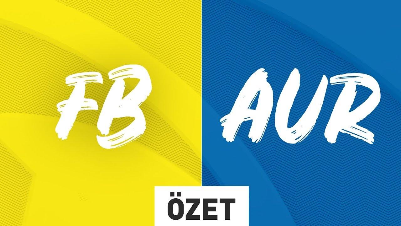 E-Spor, 1907 Fenerbahçe  ( FB ) vs Doğuş Üni Aurora  ( AUR )  Maç Özeti | 2019 Kış Mevsimi 7. Hafta