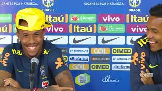 Seleção Brasileira: coletiva com Alex Sandro e Éder Militão - 09/09/2018