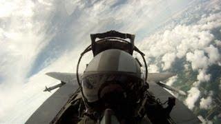 Female Fighter Pilot Breaks Gender Barriers