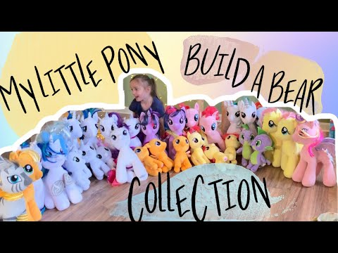 My Little Pony Build A Bear Collection #mylittlepony