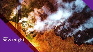Amazon fires: How can the inferno be stopped? – BBC Newsnight- BBC Newsnight