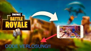 Fortnite for mobile ios!also android? Code raffle! New weapon in fortnite