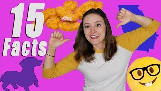 One of Erin Elyse's most viewed videos: 15 FACTS ABOUT ME!!!