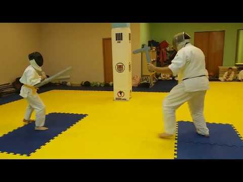 """Спортивная дисциплина по школе Aikido Old School """"Честный бой"""" Боец Дмитрий Vs Мастер ЛЮ Part 1"""