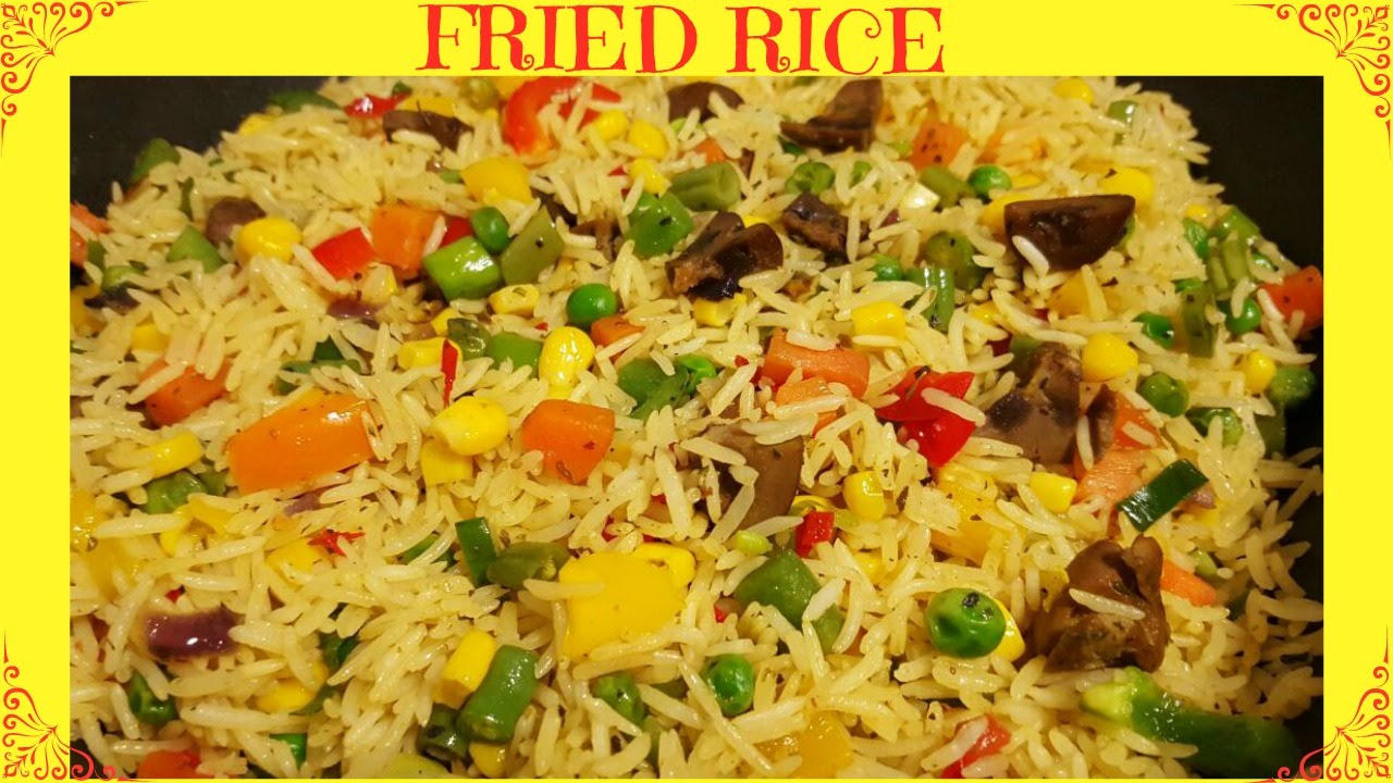How to make fried rice nigerian fried rice youtube ccuart Images