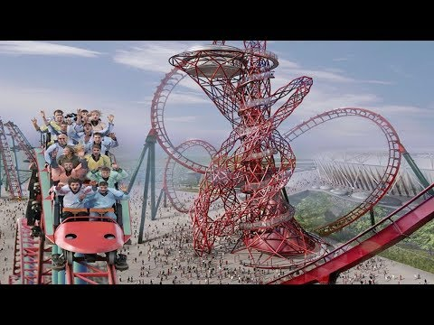 Top 10 Craziest Roller Coasters In The World || Pastimers