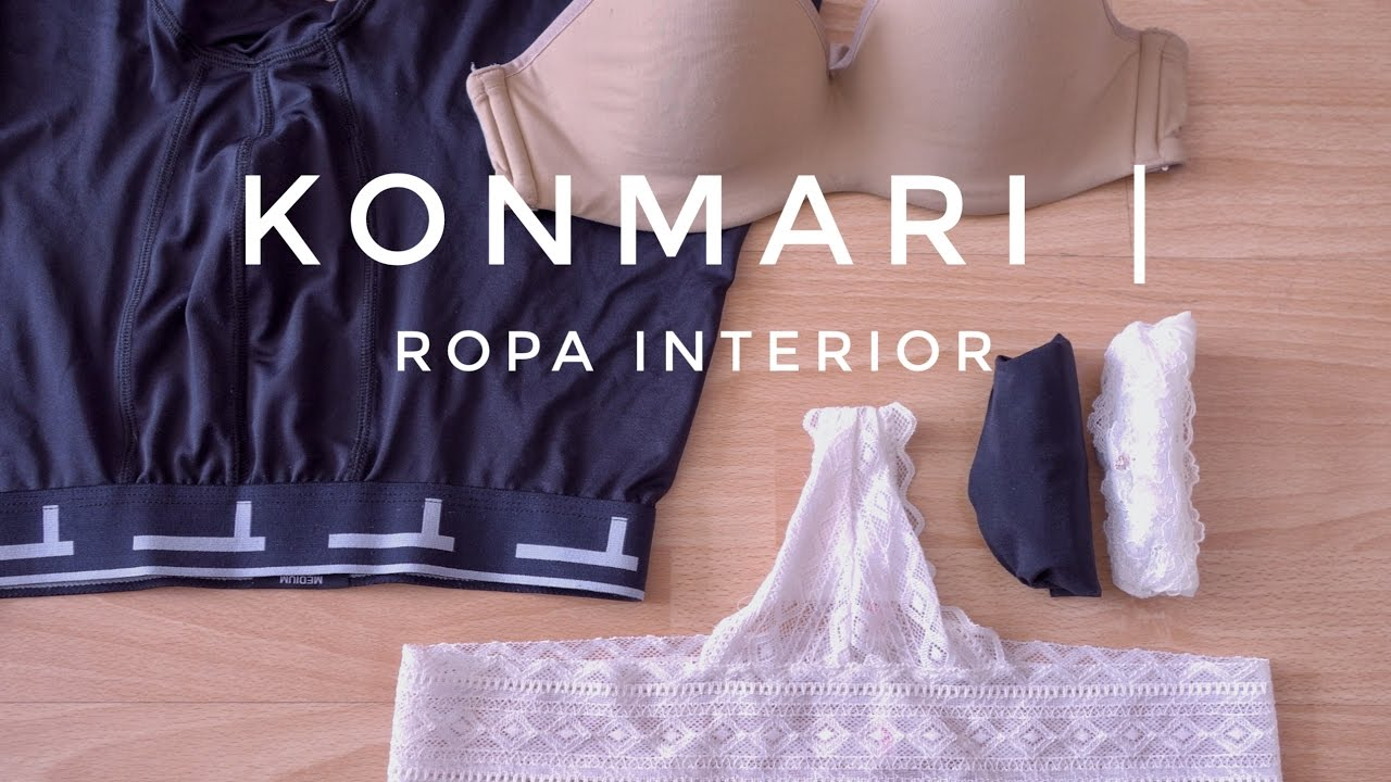 C mo doblar ropa interior m todo konmari por marie kondo - Metodo konmari ropa ...