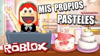I SELL MY OWN PASTELS!!! You want one? 🎂 ROBLOX in Spanish