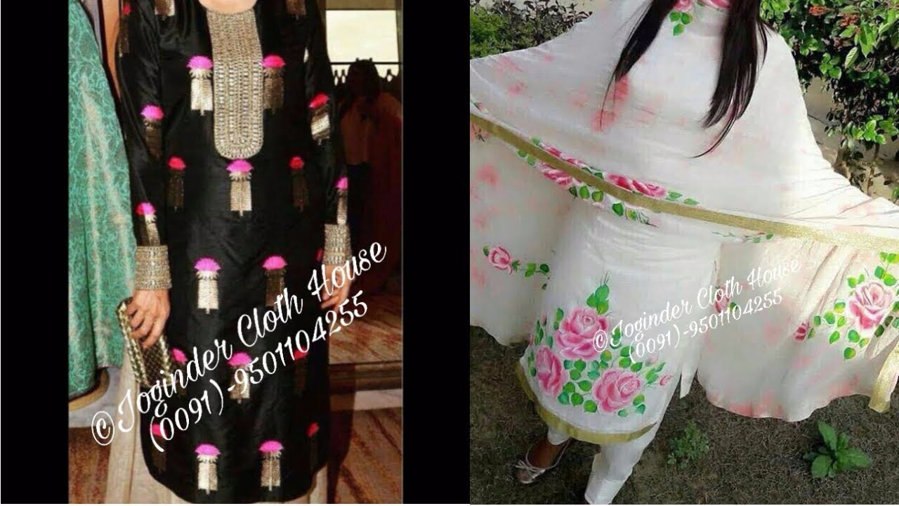 Latest Designer Punjabi Dresses
