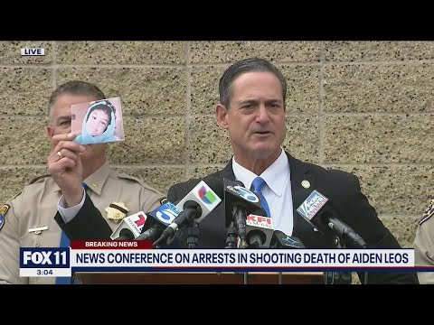 Download Officials provide an update on the arrests made in the road rage shooting death of Aiden Leos