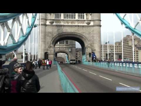 Tower Bridge - one of London's top tourist attractions