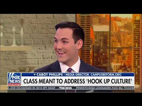 University Offers Kavanaugh Course: Cabot Phillips Discusses On Fox