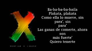 Nicky Jam x J  Balvin   X EQUIS  Lyrics Video