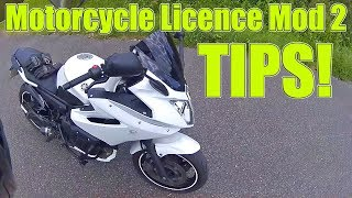 Motorcycle Licence Mod 2 Tips!