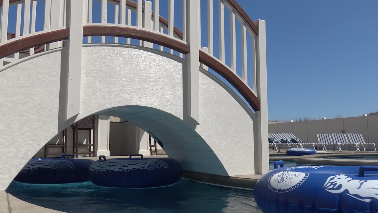 The Outer Banks' First Private Lazy River Pool