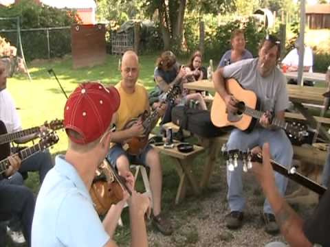 the backyard bluegrass band video 8 youtube