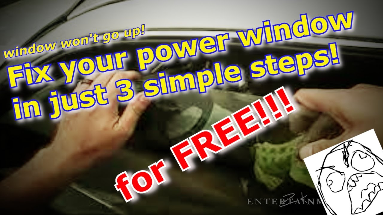 Fix Your Power Window In 3 Steps Not Going Up Temporary 2005 Kia Sedona Motor Youtube