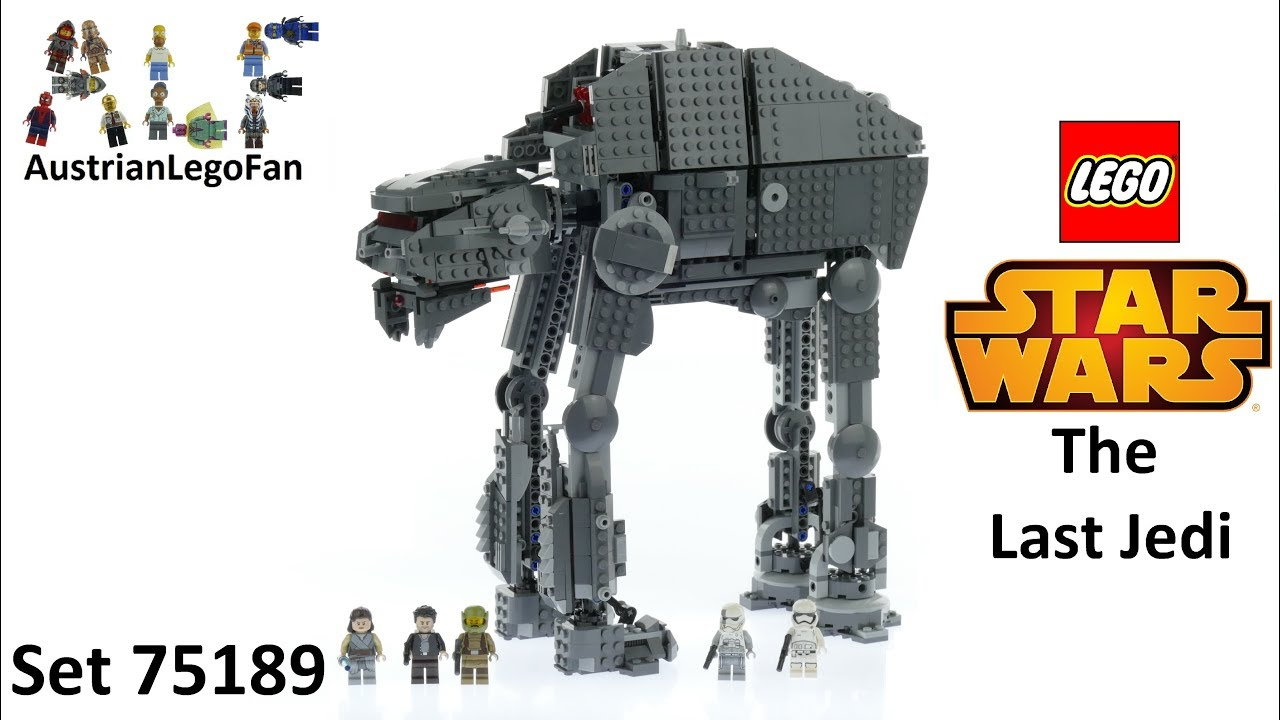 LEGO® 75189 STAR WARS First Order Heavy Assault Walker