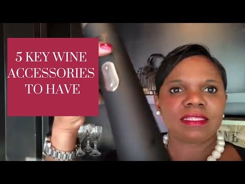 5 Must Have Wine Accessories | Faylene's World