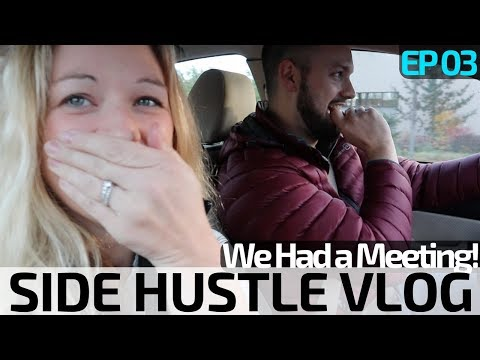 Side Hustle Vlog Ep 03 | Trista's Shipping Tip + The Game Changer Meeting!