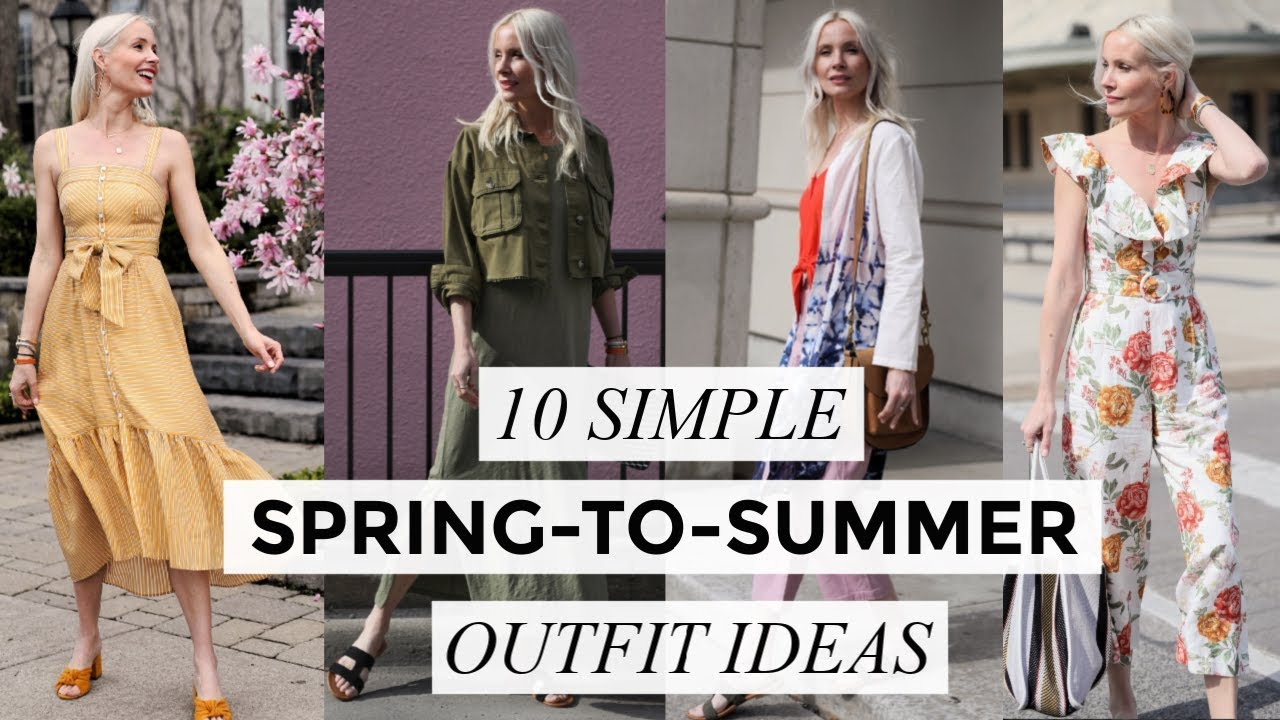 10 SPRING-TO-SUMMER OUTFIT IDEAS | Fashion & Style | Liv Judd 5