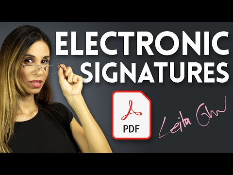 FREE Options to Sign PDF | Make an Electronic Signature