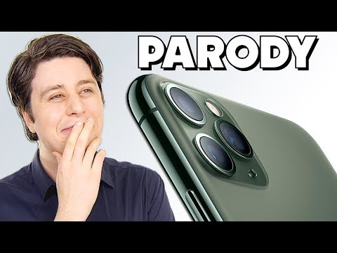 IPHONE 11 PRO PARODY - Third Cams the Charm