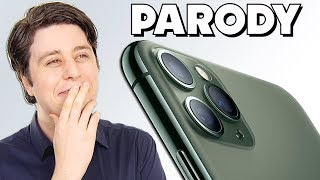 "IPHONE 11 PRO PARODY - ""Third Cam's the Charm"""
