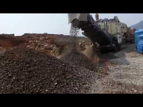 [ Winwin Used Machinery ] Used Con Mobile Crusher Metso NORDBERG GP11F 2013yr For Sale