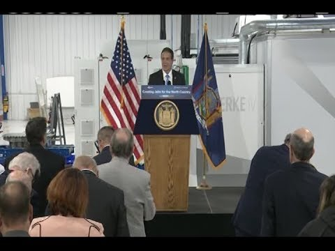 Governor Cuomo Makes an Announcement in Plattsburgh