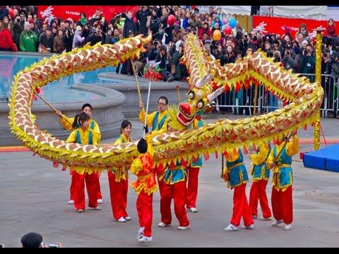 dragon dance in london