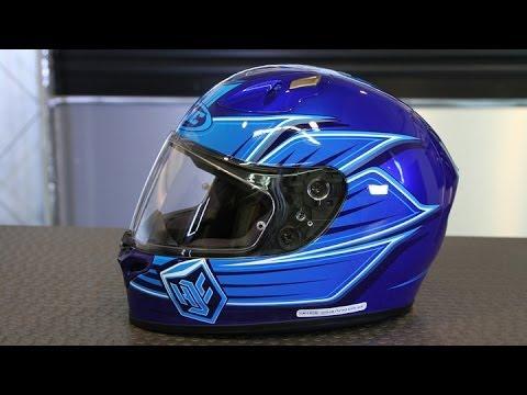 hjc fg 17 banshee helmet motorcycle superstore youtube. Black Bedroom Furniture Sets. Home Design Ideas