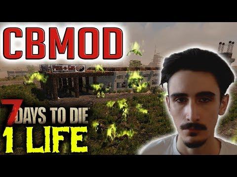 BACK - ONE LIFE CHALLENGE: CBMod - 7 Days to Die (PC)