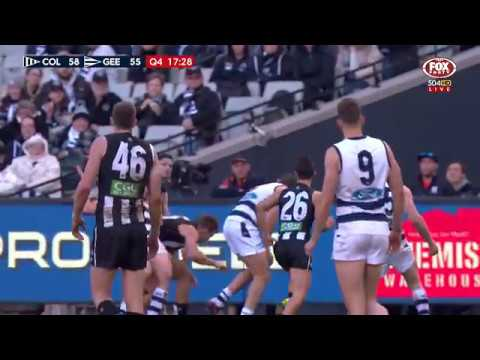 Round 22 AFL - Collingwood V Geelong Highlights