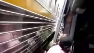 Kereta salah jalur apa jalur keretanya yg salah